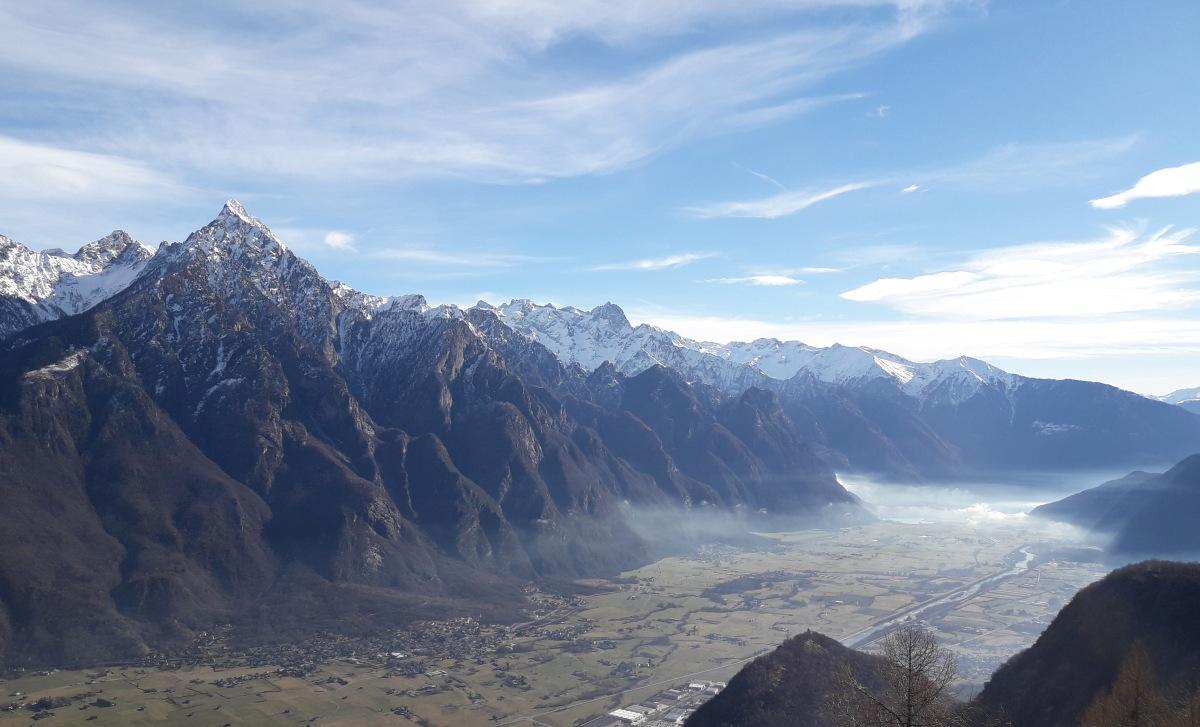 Valchiavenna: La Mulattiera del Benefattore di Gordona