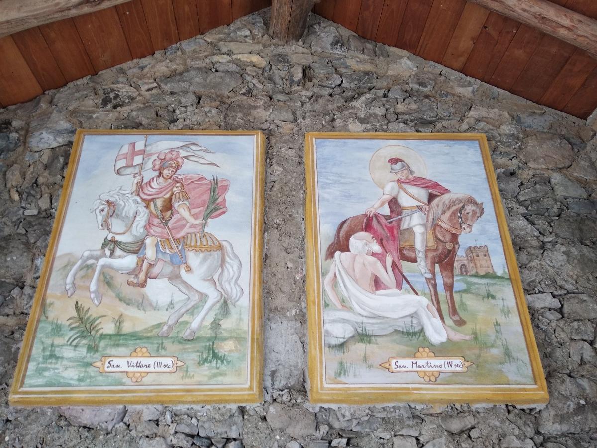 Lario: l'antica strada Perledo-Esino. Quando sugli accordi vigilavano oltre ai notai pure i santi.