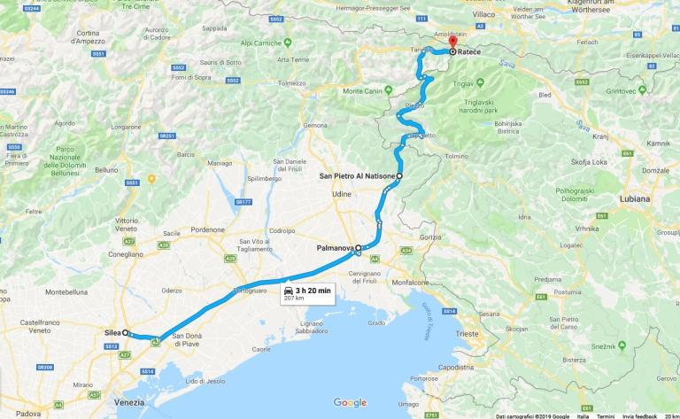 viaggio per slovenia