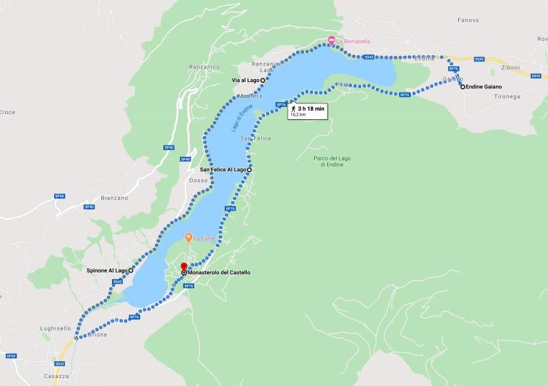 passeggiata Lago d'Endine