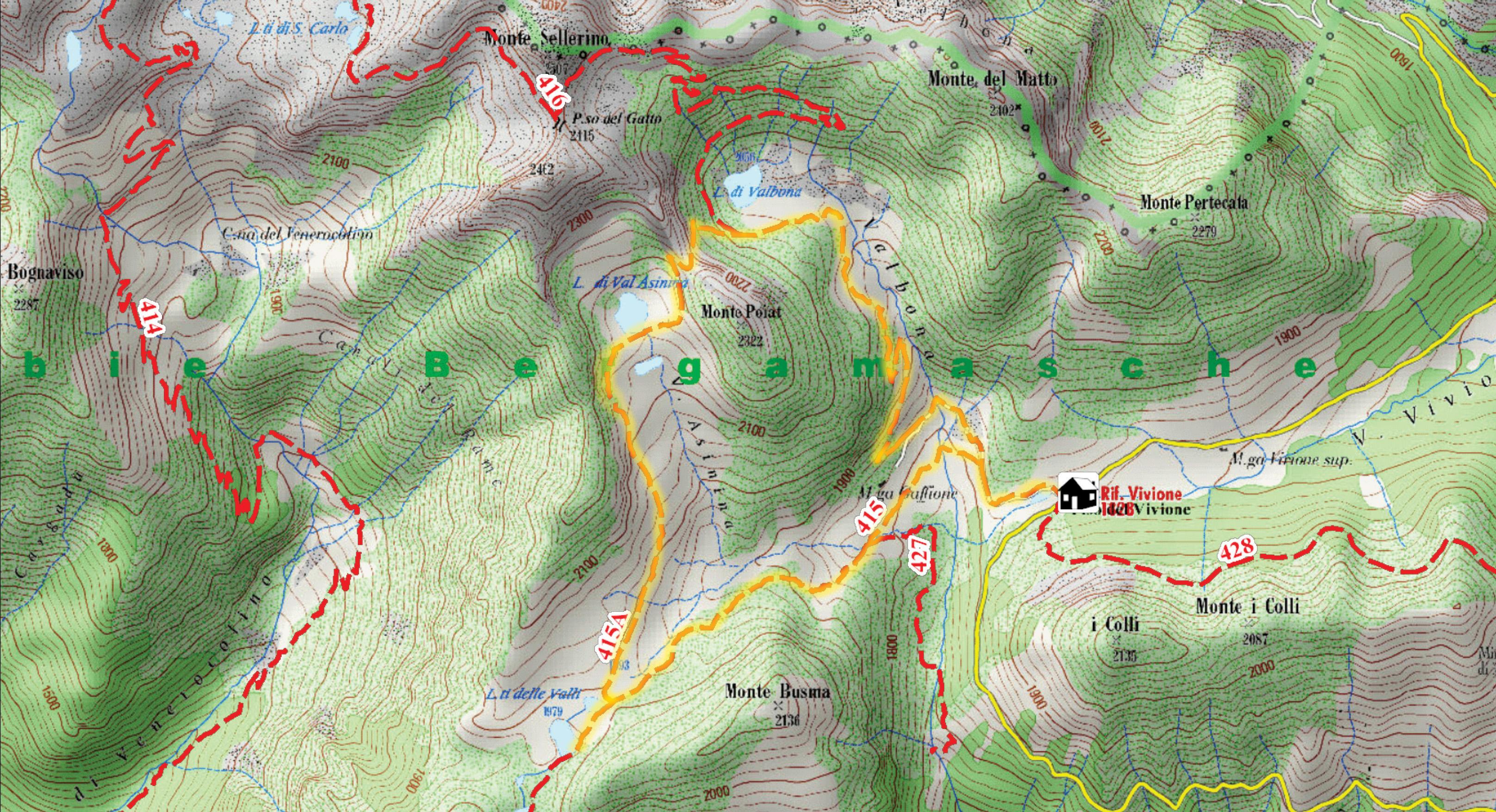 vivione_cartografia con traccia